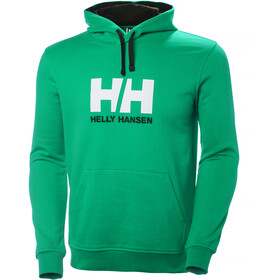Helly Hansen HH Logo Hoodie Men pepper green